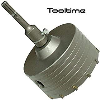 DR108 – Corona de perforadora TCT con extremo de broca SDS (110 mm)