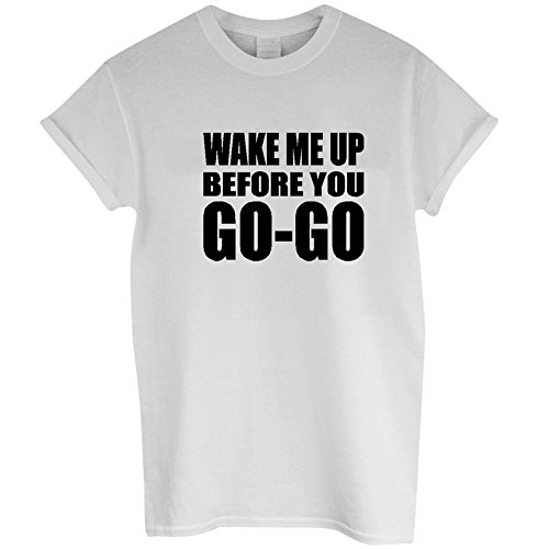 Wake Me Up Before You Go Go T SHIRT for Wham! dress-up
