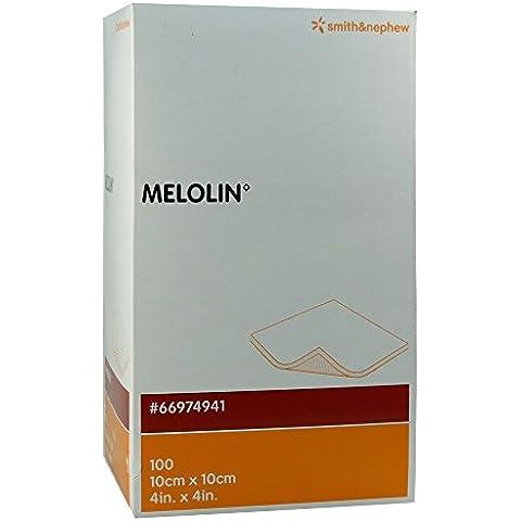 Melolin–Apósitos 10x 10cm tratamiento–Pack de 100