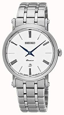 Seiko SXB429P1 Reloj analógico de Cuarzo para Mujer con Correa de Acero Inoxidable (reacondicionado)