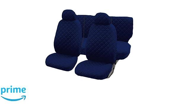 Lupex Shop Punto/_NGs  Punto zweifarbige Sitzbez/Ã/¼ge schwarz dunkel grau