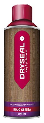 DRYSEAL PMS09 Pintura para Madera, Rojo Cereza, 400 ml