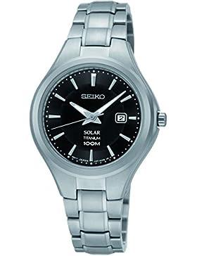 Seiko Unisex-Armbanduhr Analog Quarz Edelstahl SUT201P1