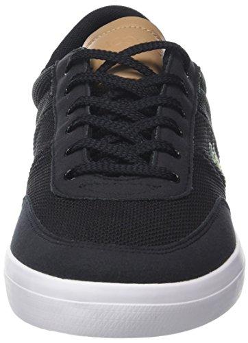 Lacoste Court-Master 118 1 Cam, Sneaker Uomo Nero (Blk/lt Tan)