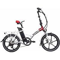 bicicleta eléctrica QUADRINI, bicicletas eléctricas plegables, modelo MINIMAX, Shimano, La batería de
