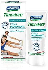 Timodore Crema Deodorante 48 ore, 50 ml