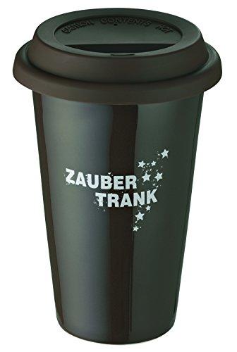 Kaffeebecher Tempra 0,3 Liter Braun Porzellan Ceran Gas Rund Rohe Germany 222144-br (Gas-herd-kaffee-topf)