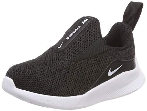 Nike Unisex Baby Viale (td) Hausschuhe Schwarz (Black/White 002) 21 EU