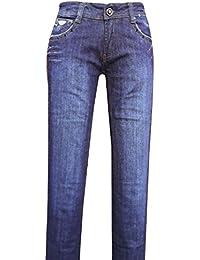 Unknown - Jeans - Femme bleu noir foncé XL
