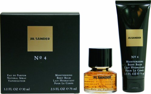 Jil Sander No 4 Geschenkset femme / woman, Eau de Parfum Vaporisateur / Spray 30 ml, Bodylotion 75 ml, 1er Pack (1 x 105 ml)