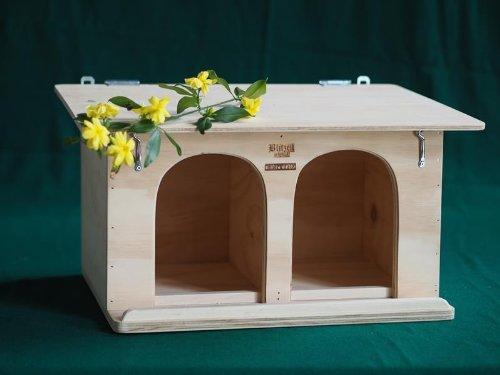 Haus für Tauben taubenhaus Größe XL Blitzen Original made in Italy 100% (Taube-nistkästen)