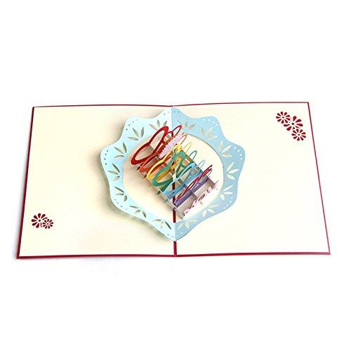 Kofun Geburtstagskarte, Love Mom, Stück: 1 (Baby-segen-einladungen)