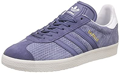 best service 2c221 23342 ... adidas Originals Womens Gazelle W Leather Sneakers