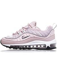 free shipping ca9d2 55a27 Nike Schuhe Frau Turnschuhe AIR MAX 98 in rosa Stoff AH6799-600