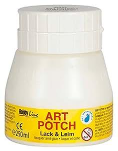Kreul 49252 - Art Potch Lack und Leim 250 ml