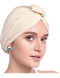 Cathy02Marshall Sombrero Cabeza para càncer,Gorro Sombrero Pañuelo Turbante  Mujer Cabeza para Càncer Quimioterapia Chemo 1ec55ba26d1