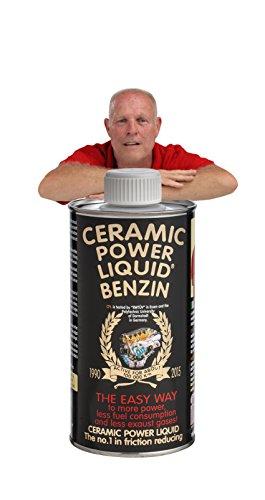 BENZIN 300 ML per motori fino a 1.500 cc. 5% SCONTO SE ORDINI DIRETTAMENTE DAL NOSTRO SITO www.ceramicpowerliquid.com scrivi AMA5 al momento del pagamento