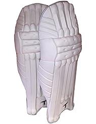 Totalmente diseño de críquet bateador de críquet almohadillas/protectores de pierna, para hombre, diestros