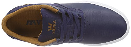 Supra Axle, Sneakers Basses mixte adulte Bleu (NAVY / CATHAY SPICE - WHITE NVY)