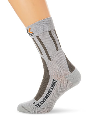 X-Socks Funktionssocken Trekking Extreme Light Pearl Grey, 42/44