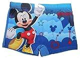 Disney Micky Maus Jungen Badeshort Badehose (Blau, 98)
