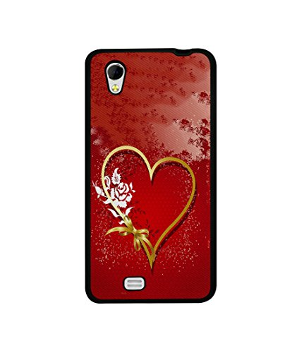 Casotec Love Rose Design Canvas Printed Soft TPU Back Case Cover for Gionee Ctrl V4s  available at amazon for Rs.349