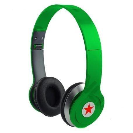 whizztec–Son HD style DJ Solid Bass SL-800Casque audio son pour lecteur MP3/MP4, iPod, iPhone, iPad, Tablettes, Ordinateurs Portables, Smartphones, Lecteur Media portable (Vert) whizztec