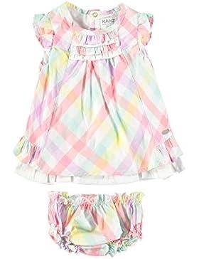Kanz Mädchen Kleid Kleid M. Flgelarm + Hschen