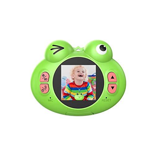 Womdee Kinderspielzeug-Kamera, Kompaktkameras für Kinder, 12 m, 1080P HD-Videokamera, kreatives Geschenk für Mädchen und Jungen grün