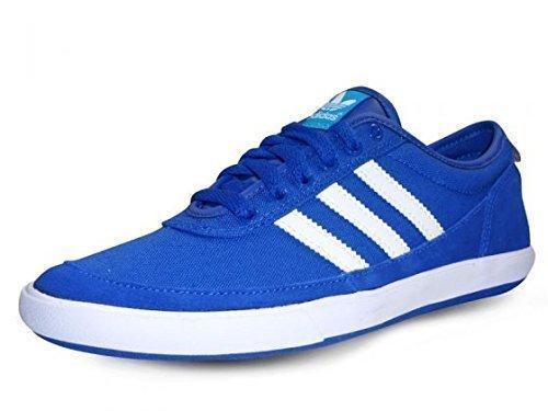 Adidas Originals Court Spin Schuhe Sneaker Turnschuhe Trainers blau Wildleder / Textil
