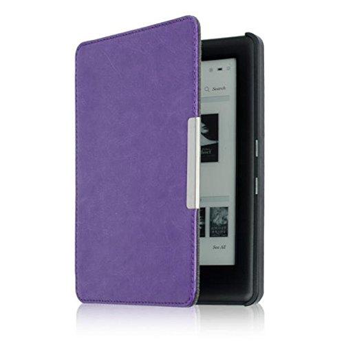 Preisvergleich Produktbild Culater für Kobo Touch 2.0 eReader PU Leder Hülle (lila)