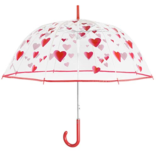 Perletti 2019 Parapluie Canne, 112 cm, 1 liters, Rouge (Rojo)