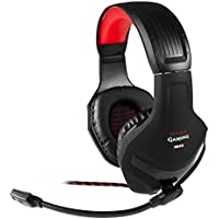 Mars Gaming MH2 - Auriculares gaming (micrófono plegable y flexible, drivers neodimio 40mm, conexión doble, ultrabass, cancelación ruido, jack 3.5mm, PC/PS4/XBOX ONE/Smartphone)
