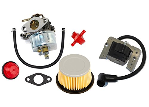 Oxoxo faciles à Carburateur Carb kit pour Tecumseh 632113 632113 A HS40 Hssk40 avec filtre à air 30727 30604 John Deer Am30900 Cub Cadet 488619 488619-r1 Lesco 050113