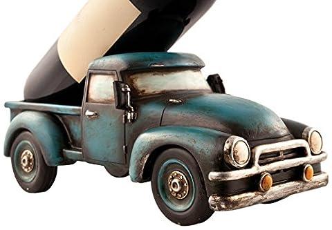 Foster & Rye 30204.5Inch Retro Truck Bottle Holder–wood–brown colour