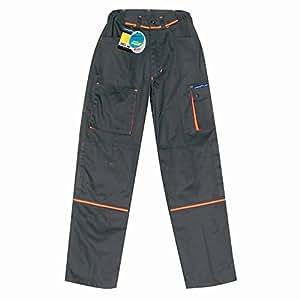 Pantalon bi-couleur GOODYEAR, poids 270 gr/M2, 65% polyester, 35% coton. NOIR taille 2XL