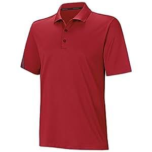 adidas - Shirts - Climacool 3-Streifen Poloshirt - Red - L