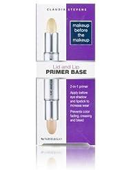 Claudia Stevens Base à paupières et crème de base pour les lèvres 2 en 1 Makeup Before The Makeup
