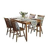 Unbekannt Tischläufer Chinesische Einfache Tabelle Tischfahne Dicke Rutschfeste Tischdecke TV Schrank Nachttischdekoration (Farbe : A, größe : 32x200cm(13