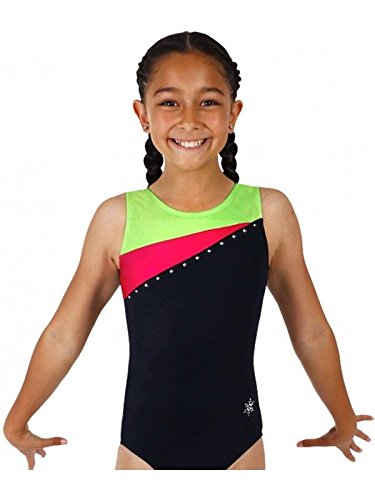 "New Gymnastic Snowflake Soaring Leotard Age 9-10 (30"")"