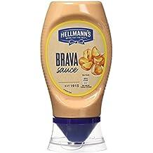 Hellmaann's - Salsa Brava, 250 ml - [Pack de 8]