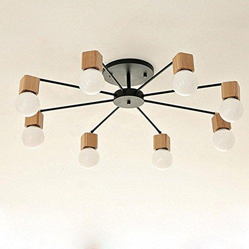 ytb-korean-air-rotonda-soffitto-in-legno-soggiorno-lampadario-black-8-head