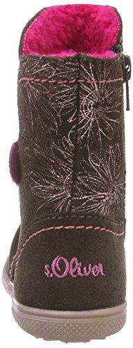 s.Oliver 35406, Bottes Classiques Fille Marron (Brown Comb 330)