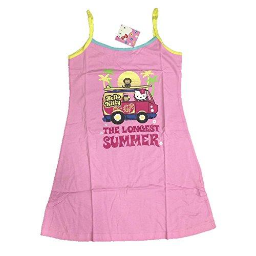 Hello Kitty, Bekleidung Erwachsene Cartoon * 02776, mehrfarbig L (Hello Kitty Damen Kleid)