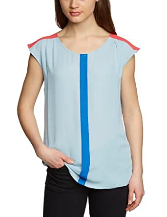 MEXX METROPOLITAN Damen Bluse 6BBTB007, Gr. 40 (L), Grau (078)