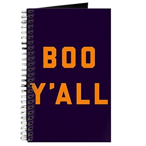 Yall–Spiralbindung Journal Notizbuch, persönliches Tagebuch, liniert (Boo Kostüm Für Frauen)