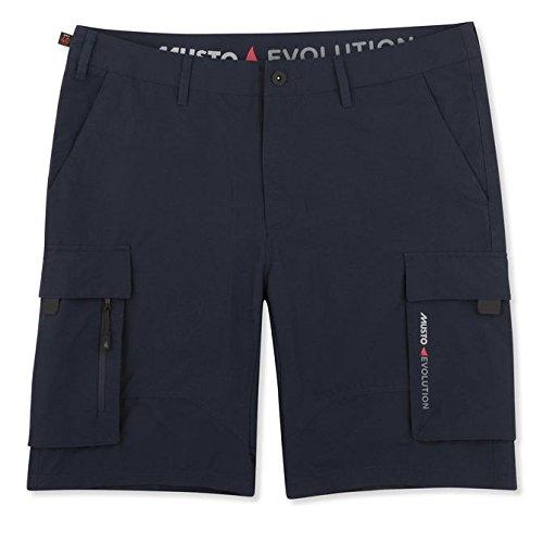 Musto Mens Deck UV Dry Bootfahren Wassersport Shorts Echte Marine - Easy Stretch UV Sonnenschutz und SPF-Eigenschaften (Marine-multi-tool)