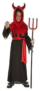 My Other Me Me-204045 Disfraz de diablo para niño, 5-6 años (Viving Costumes 204045)