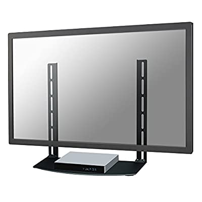 NewStar AV Equipment Shelf for Sky/Virgin/BT/Freeview Box, Xbox, Playstation, DVD and Bluray Players - Black produced by Newstar - quick delivery from UK.