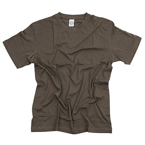 Fostex Garments, Maglietta T-Shirt militare colori vari (S, Verde Oliva)